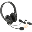 eForCity - Headset with Microphone for MicroSoft xBox 360 - Black - Black