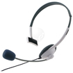 eForCity - Adjustable Microphone Headset for Xbox 360 360 Slim - White - White