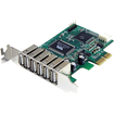 Startech - 7 Port PCIe Low Profile USB 2.0 Adapter Card