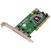 SIIG - 4 Port Dual Profile Hi-Speed USB 2.0 PCI Adapter