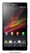 Sony - Xperia ZL Cell Phone (Unlocked) - Black