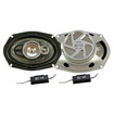 "Absolute USA - PRO6993 Usa Pro6993 6"" x 9"" 3-Way 500-Watts Max Total with Dome Tweeter - Multi"