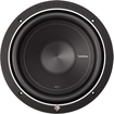 "Rockford Fosgate - 500W 10"" Single 2 ohm Punch Stage 1 Subwoofer - Black"