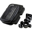 DrHotDeal - Bike Bicycle Handlebar Mount Weather Water Proof Zipper Case Bag for iPhone 5 - Black - Black