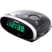 Jensen - Jcr-175 Am/Fm Alarm Clock Radio - Black