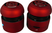 AGPtek - 2.0 4 W Home Audio Speaker System - iPod Supported - Red - Red