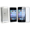 eForCity - Case and Screen Protector Bundle for iPod Touch 4G 4th Gen - Clear - Clear