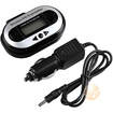 eForCity - Lcd Stereo Car Fm Transmitter For Mp3 Player iPod Touch - Black - Black