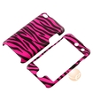 eForCity - Snap-On Case for iPod Touch 4th Generation - Hot Pink/Black Zebra - Hot Pink/Black Zebra