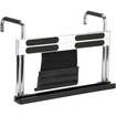Scosche - fitRAIL Mounting Adapter for iPad, Exercise Equipment - Black, Silver - Black, Silver