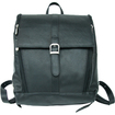Piel Leather - Slim Computer Backpack - Black