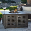 UniFlame - Propane Gas Fire Pit with Grey Slate Top