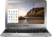 """Samsung - 11.6"""" Chromebook - Exynos 5 - 2GB Memory - 16GB Flash (eMMc) Memory - Silver"""
