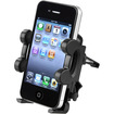 eForCity - Car Air Vent Phone Holder Compatible with Blackberry Z10 - Black - Black