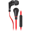 NoiseHush - NX80 3.5mm Stereo Headphones - Black, Red - Black, Red