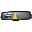 Crimestopper - Replacement Style Rear View Mirror Monitor with 3.5 Inch LCD Display - Multi