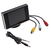 "Agptek - 3.5"" TFT LCD Color Screen Car Rearview Monitor DVD VCR - Multi"