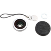Agptek - 2-in-1 Macro Lens and Fish Eye Camera Lens for HTC EVO 3D i9100 - Silver