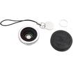 Agptek - 2-in-1 Macro Lens and Fish Eye Camera Lens for HTC EVO 3D i9100 - Silver