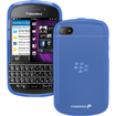 Fosmon - TPU Silicone Case for BlackBerry Q10 - Blue - Blue