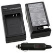 eForCity - Compact Battery Charger Set for Canon LP-E10 Battery