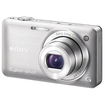 Sony - Electronics DSC-WX5 Cybershot 12.2MP Wide 5X Digital Camera - Silver