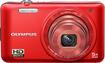 Olympus - VG-160 14.0-Megapixel Digital Camera - Red