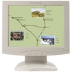 "Planar - 15"" LCD Touchscreen Monitor - 4:3 - 8 ms - White"