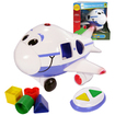 The Learning Journey - Jumbo The Jet Shape Sorter Remote Control Airplane - Blue - Blue