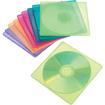 Innovera - 81910 Slim CD/DVD Jewel Case - Blue, Green, Orange, Pink, Purple