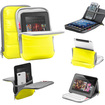 """GreatShield - Universal Sleeve Case Soft Carrying Bag with Stand Cover for Android 4.0 MID 7 7"""" - Yellow"""
