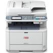 Oki - LED Multifunction Printer - Monochrome - Plain Paper Print - Desktop