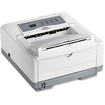 Oki - B4000 LED Printer - Monochrome - 600 x 2400 dpi Print - Plain Paper Print - Desktop - White