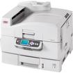 Oki - C9000 LED Printer - Color - 1200 x 600 dpi Print - Plain Paper Print - Desktop - White