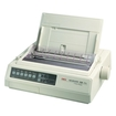 Oki - MICROLINE Dot Matrix Printer - Monochrome - White - White