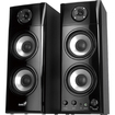 Genius - 2.0 50 W Home Audio Speaker System - iPod Supported - Black