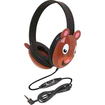 Califone - Califone Listening First Kids Stereo and PC Wired Headphones Bear Design - N/A
