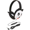 Califone - Kids Stereo/Pc Headphone Panda 3.5Mm Plug Via Ergoguys - N/A