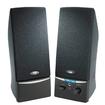Cyber Acoustics - 2.0 Speaker System - 4 W RMS - Black