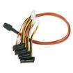 LSI Logic - 0.6M SFF-8087 To SFF-8482 Multi-Lane Internal SAS/SATA Cable