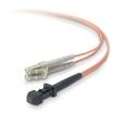 Belkin - Fiber Optic Duplex Patch Cable - Orange