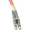 C2G - 6M LC to LC Duplex 62.5/125 Multimode Fiber Patch Cable - Orange