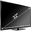 TV-Protector - 32 inch TV-Protector TV Screen Protector for LCD LED & Plasma HDTV - Clear