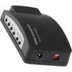 AGPtek - PC MAC VGA to TV AV Composite RCA S-Video Converter Box Adapter - Black