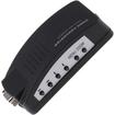 AGPtek - PC MAC VGA to TV AV Composite RCA S-Video Converter Box Adapter Cable - Black