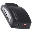 AGPtek - PC MAC VGA to TV AV Composite RCA S-Video Converter Adapter Audio Cable - Black