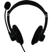 iMicro - SP-IMTP331 Stereo Headset with Microphone and Volume Control - Black