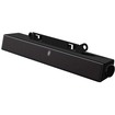Dell - 10 Watts 2.0 Multimedia Sound Bar - PC - Wired - Black