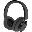 BOOM - Rogue Over-Ear DJ Headphones with In-line Controls - Black - Black