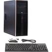 HP - Refurbished - Desktop Computer - 4 GB Memory - 1000 GB Hard Drive - Windows 7 Professional - Silver